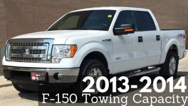 2013-2014 F-150 Towing Capacity Resource Guide