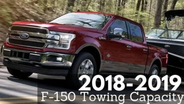 2018-2019 F-150 Towing Capacity
