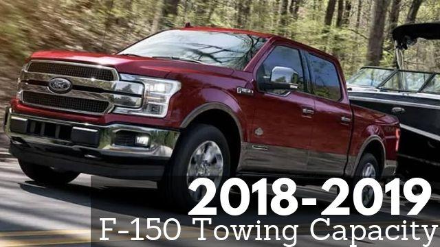 2018-2019 F-150 Towing Capacity