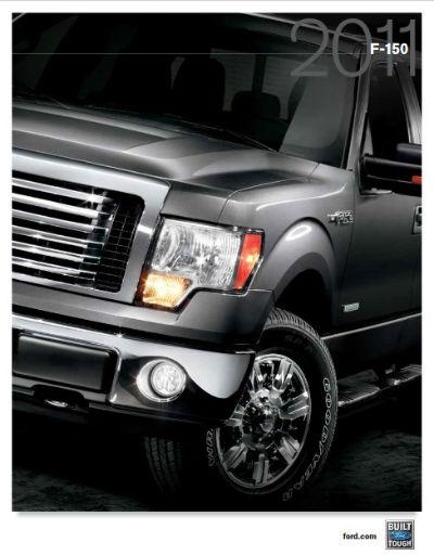 2011 F150 Specs-Brochure