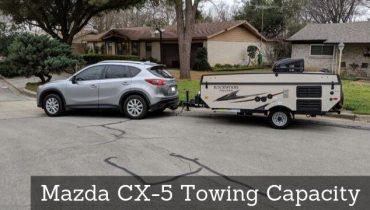 Mazda CX-5 Towing Capacity