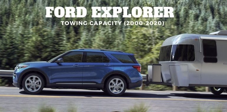 Ford Explorer Towing Capacity (2000-2020)