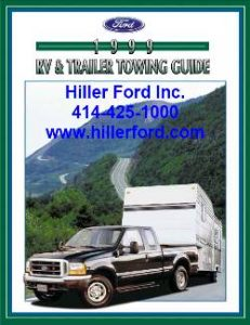 1999 Ford Towing Guide