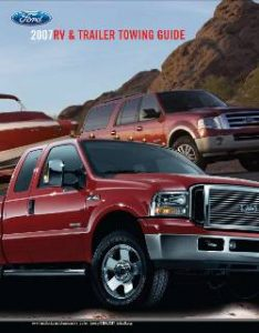 2007 Ford Towing Guide