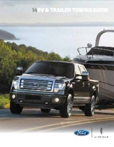 2014 Ford Towing Guide