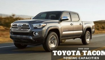 2000 2020 Toyota Tacoma Towing Capacities
