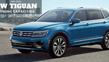 2012 2020 Volkswagen Tiguan Towing Capacities