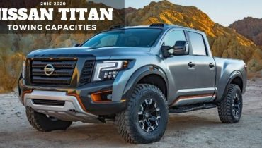 2015 2020 Nissan Titan Towing Capacities