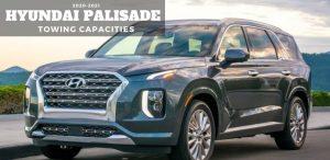 Hyundai Palisade Towing Capacities