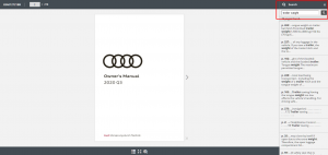 2020 Audi Q3 Owner's Manual Lookup Step 3