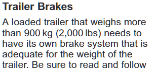 Chevy Avalanche Trailer Brakes