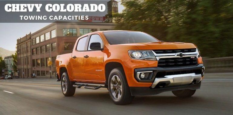 Chevy Colorado Towing Capacities