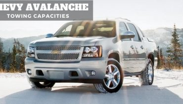 2002 2013 Chevy Avalanche Towing Capacities
