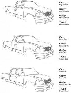 F 250 Cab Styles