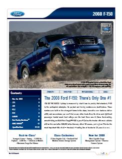 2008 Brochure