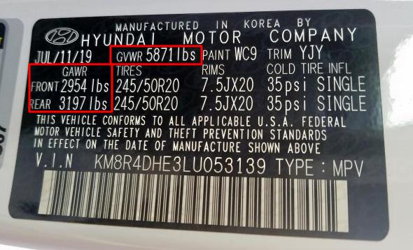 Palisade Certification Label