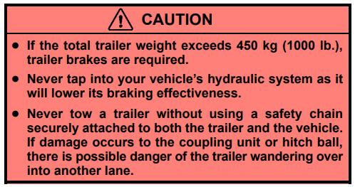 2003 Rx 300 Trailer Brakes