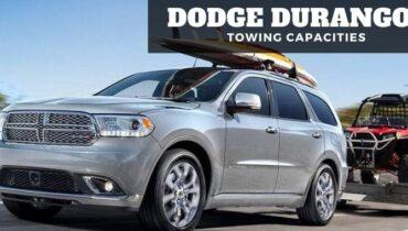 Dodge Durango Towing Capacities