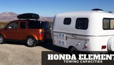 Honda Element Towing Capacities