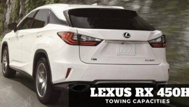 Lexus Rx 450h Towing Capacities