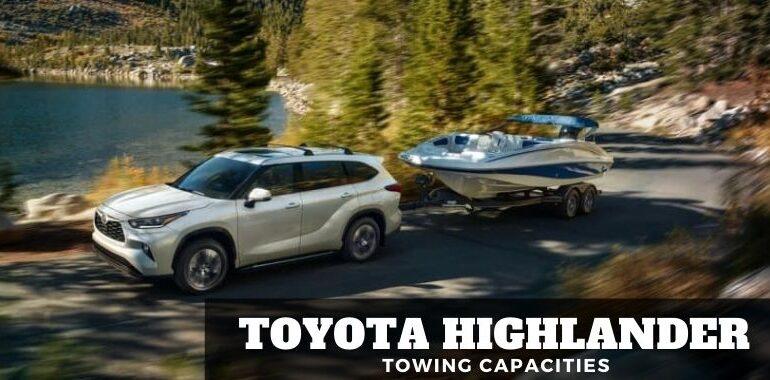 Toyota Highlander Towing Capacity