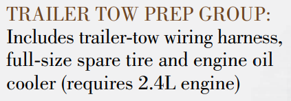 Compass Trailer Tow Prep Package