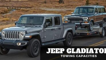 Jeep Gladiator Towing Capacities